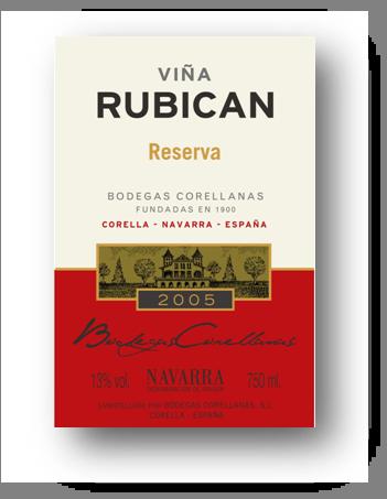 VIÑA RUBICAN RESERVA02 ETIQUETA