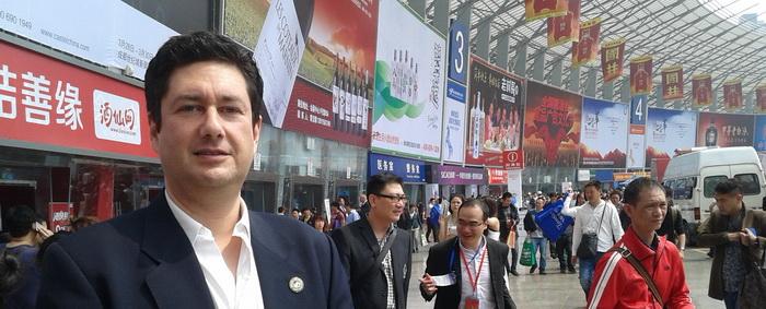 80 Feria Nacional China de productos alimenticios celebrada en Chengdú.